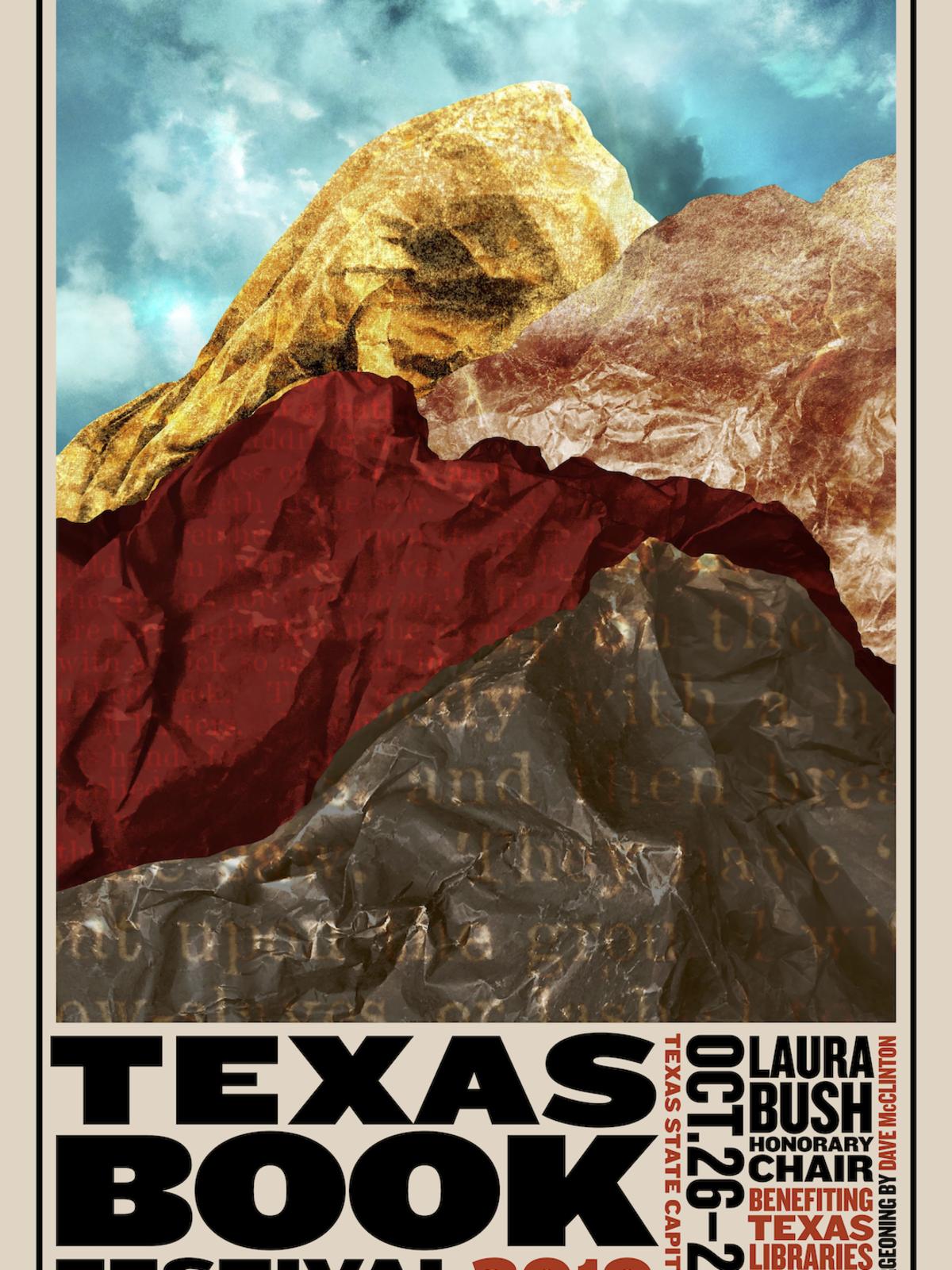 Texas Book Festival 2019 poster