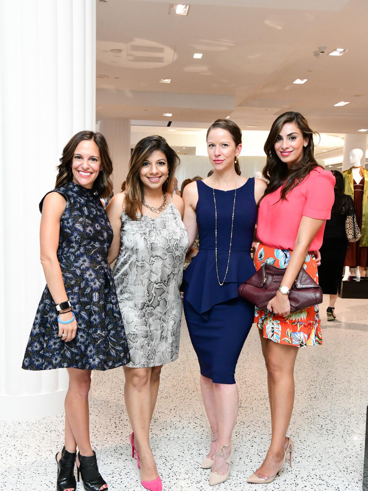 Summer Soiree Dress for Success WOW Tootsies Allie Danziger, Karishma Asrani, Sarah Smith, Sukaina Rajani (owner Macaron by Patisse)