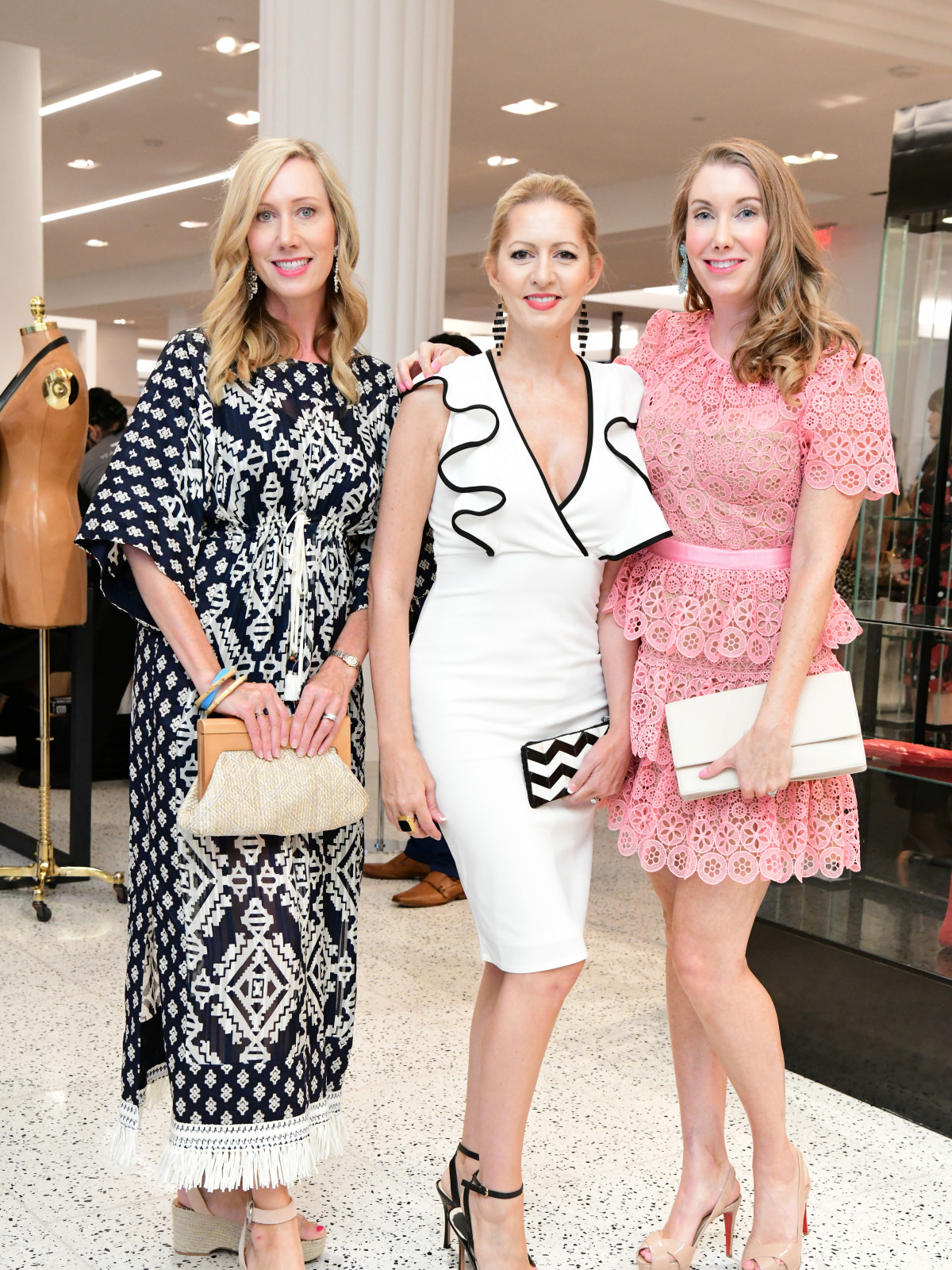 Summer Soiree Dress for Success WOW Tootsies Dianna McMinn, Stefanie Cox, Tiffany Hawthorne