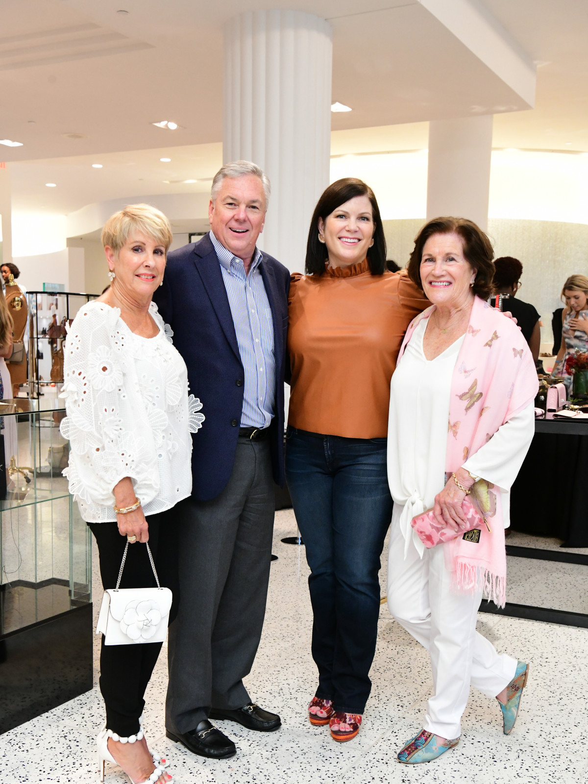 Summer Soiree Dress for Success WOW Tootsies Donna Lewis, Norman Lewis, Lauren Levicki Courville, Nancy Levicki