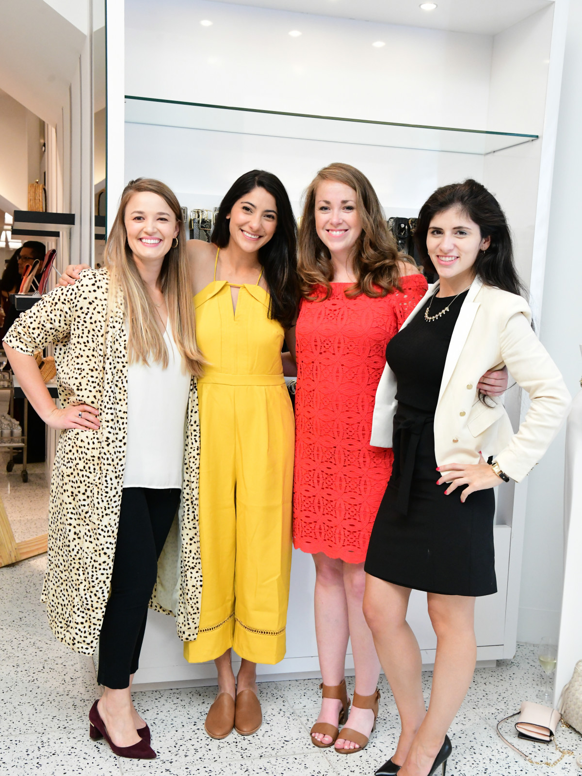 Summer Soiree Dress for Success WOW Tootsies Julia Russell, Dalia Steichen, Jessie Mehlhoff, Julia Valencia