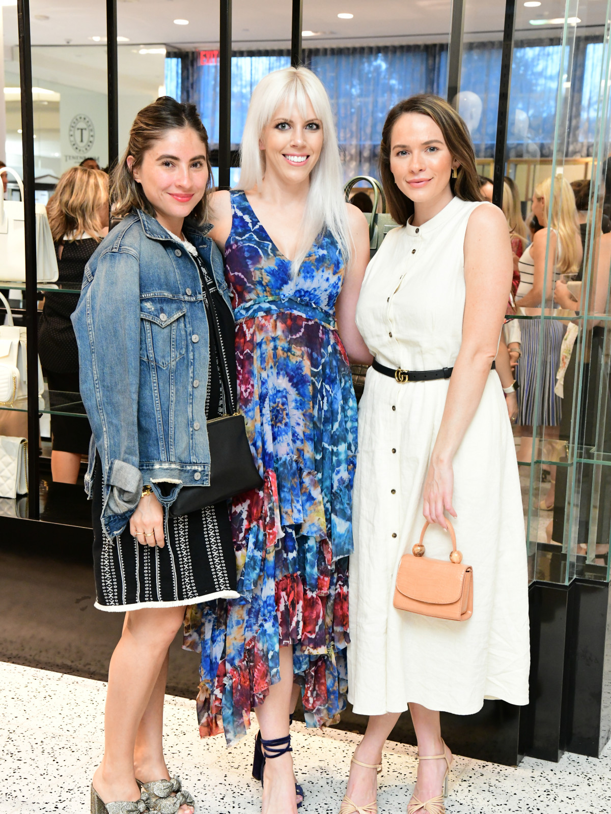 Summer Soiree Dress for Success WOW Tootsies Paulina Padilla, Meagan Thomason, Hannah Swiggard