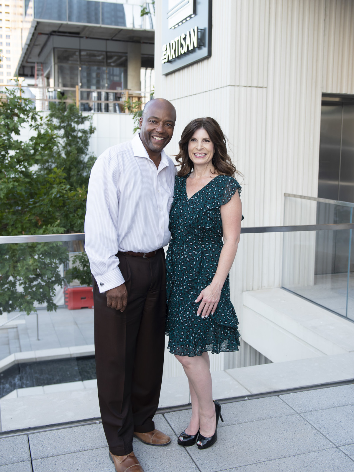 Darryl Jett and Jennifer Wasserman