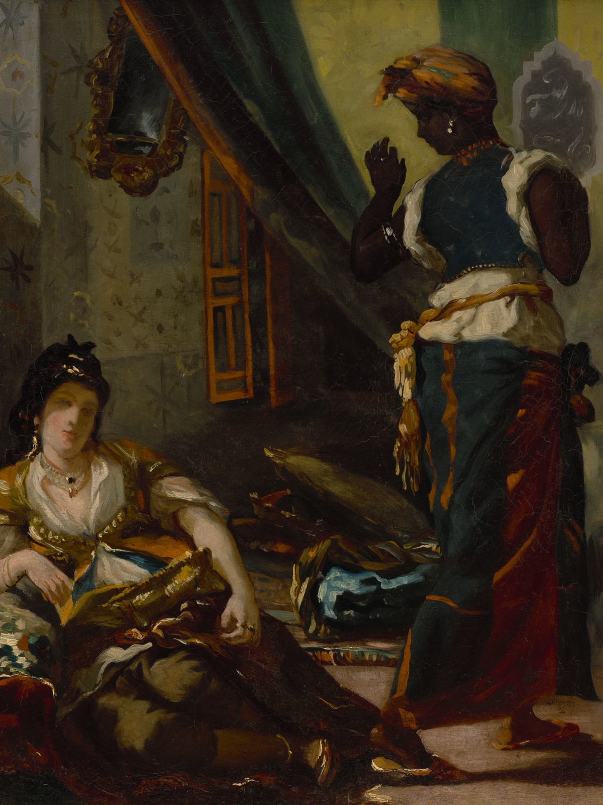 Eugène Delacroix, Women of Algiers in Their Apartment, 1833–34