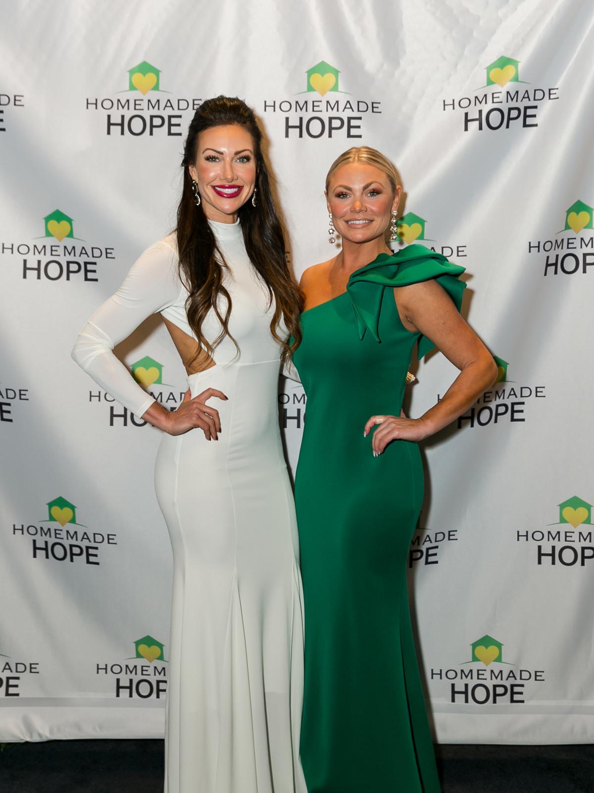 Homemade Hope Gala Ashley Dockall Natalie Gage