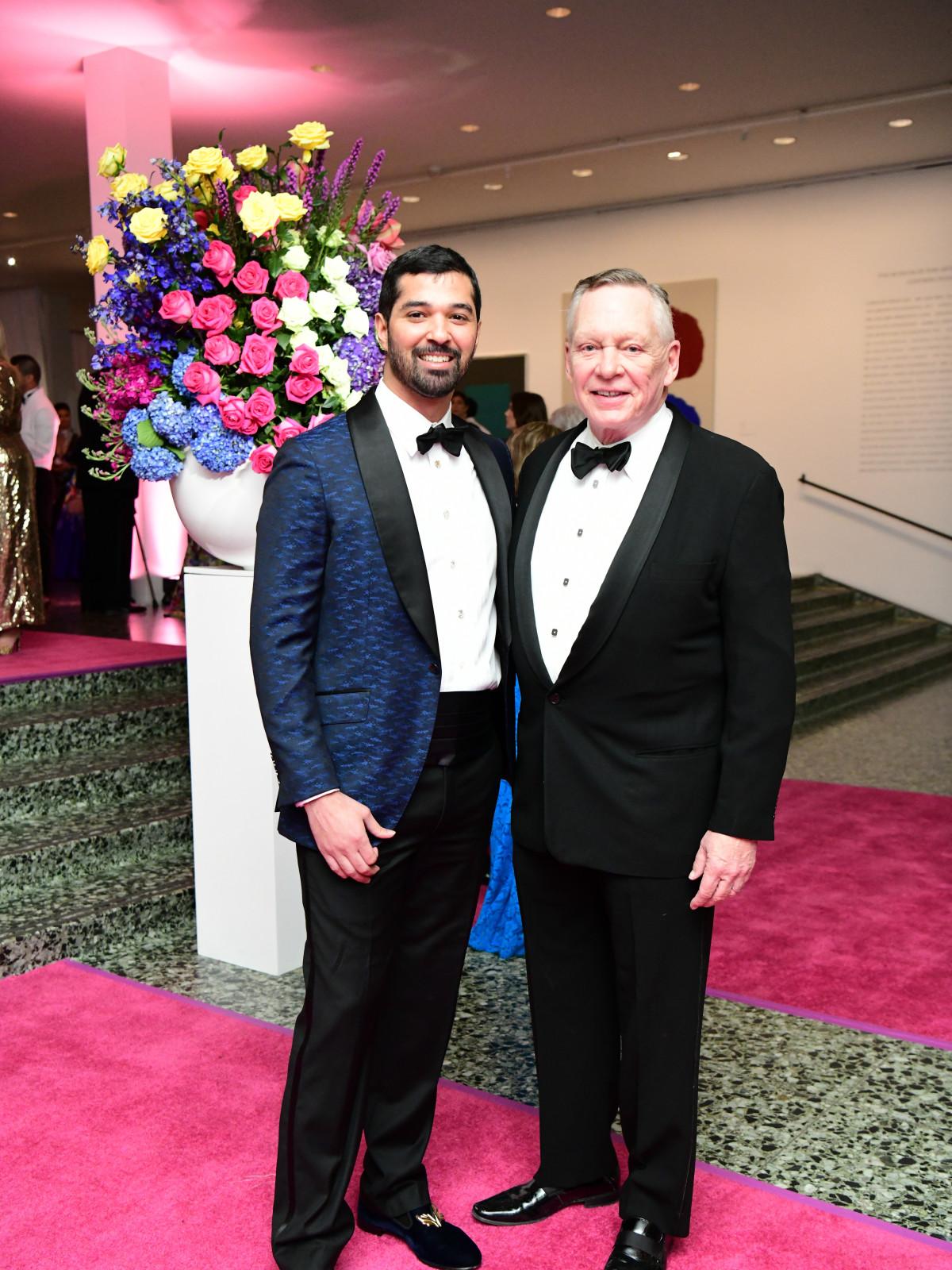 MFAH Grand Gala Ball 2019 Angel Rios Richard Flores