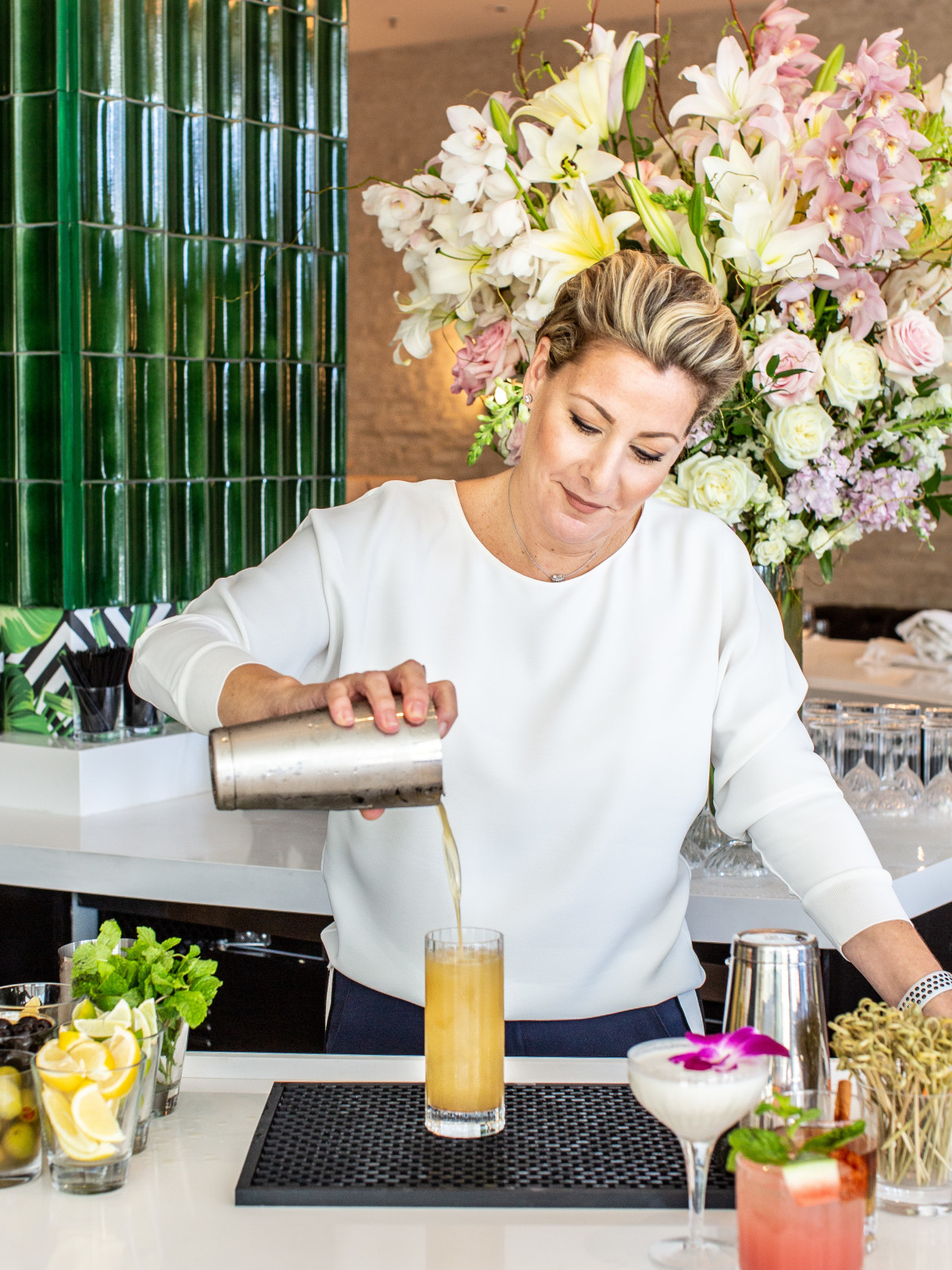 The Annie Cafe beverage director Kara Slife