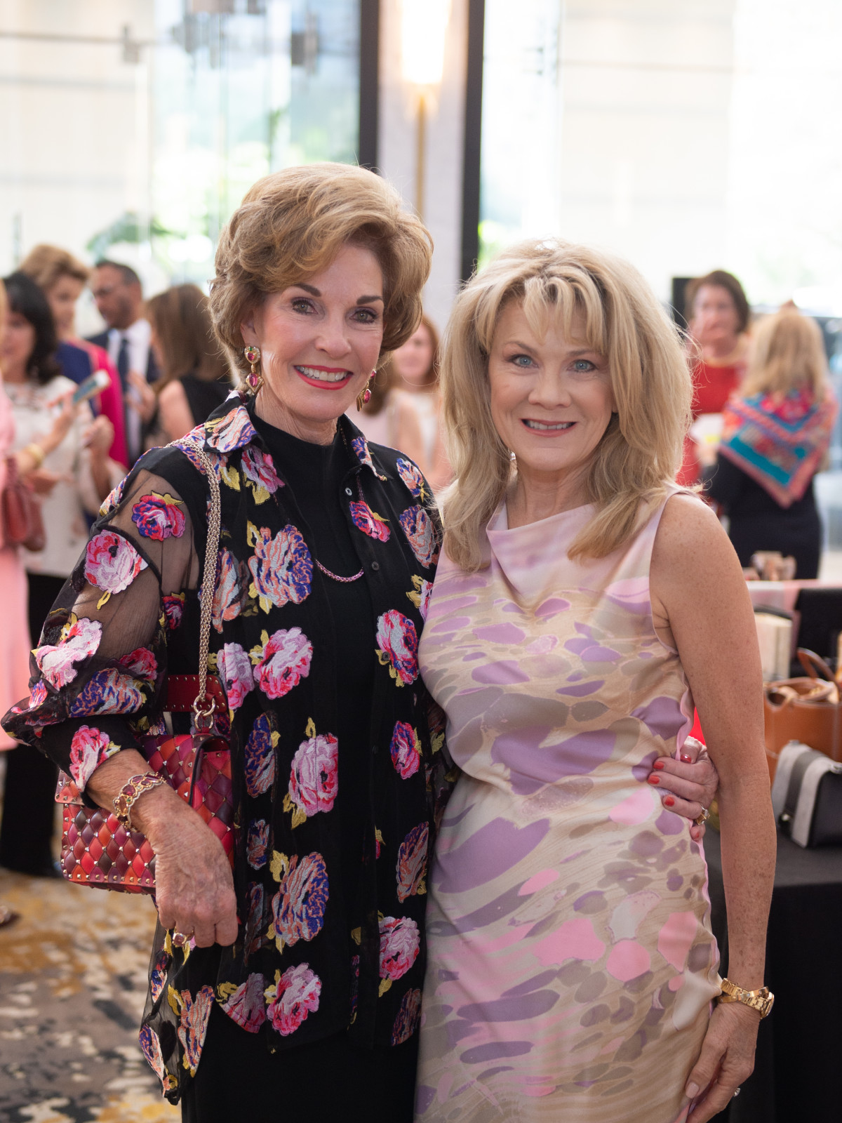 Razzle Dazzle Luncheon 2019 Sherry Smith Lisa Simon