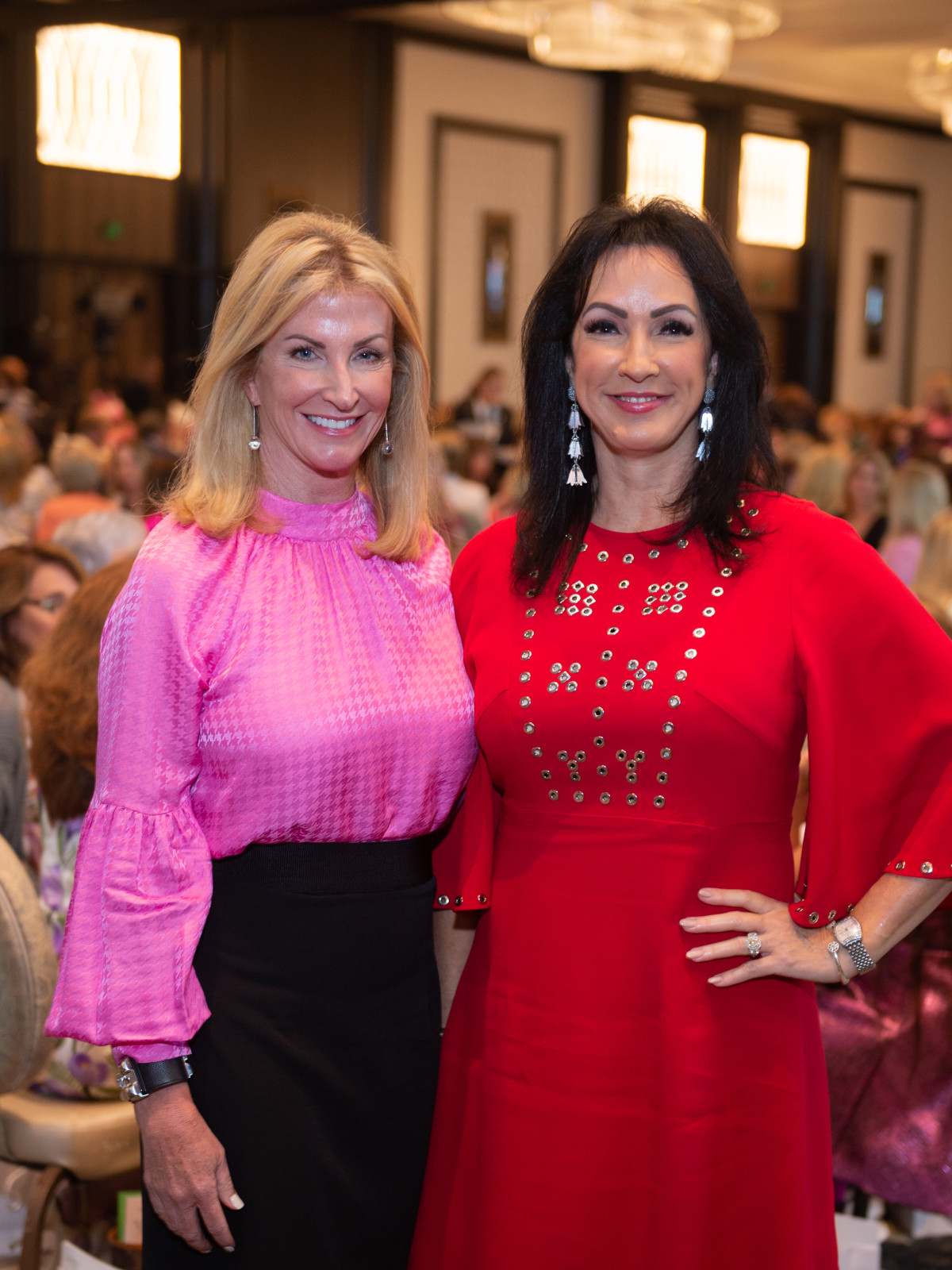Razzle Dazzle Luncheon 2019 Alicia Smith Kim Moody
