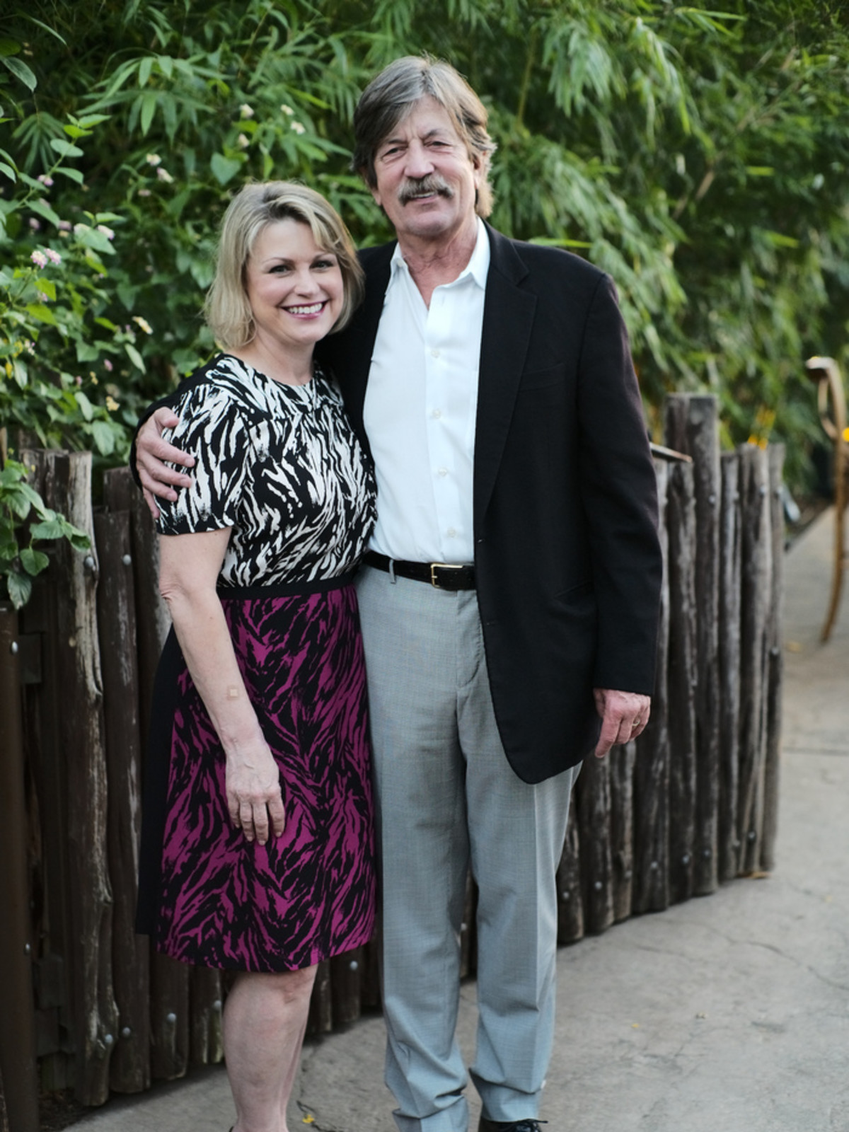 Houston Zoo Conservation Gala 2019 Kelley Lubanko, Steve Lubanko