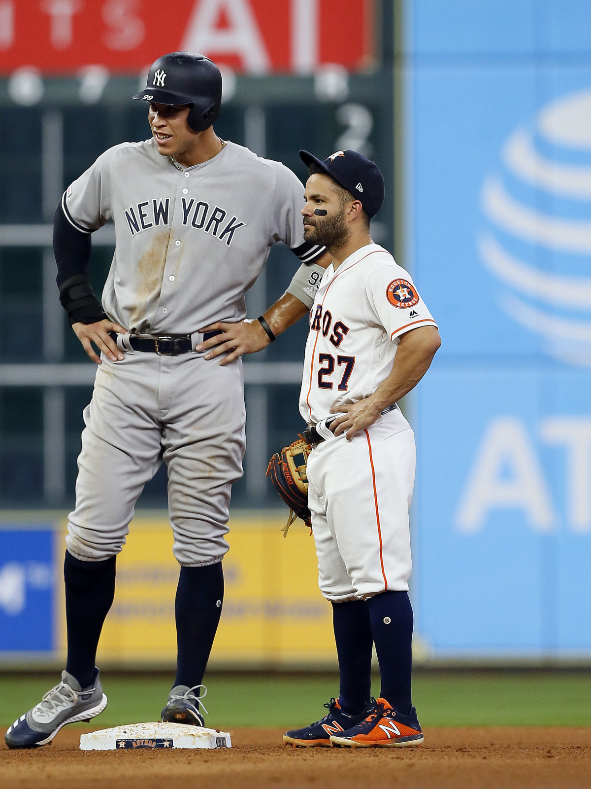 Jose Altuve Aaron Judge Houston Astros