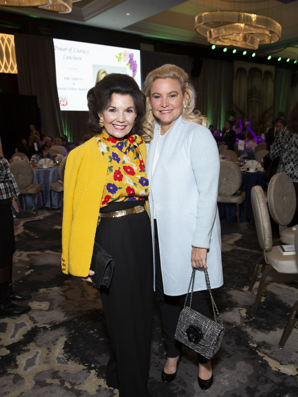 Barbara Bush Power of Literacy Luncheon Julie Andrews 2019  Linda McReynolds  and Merritt Marinelli