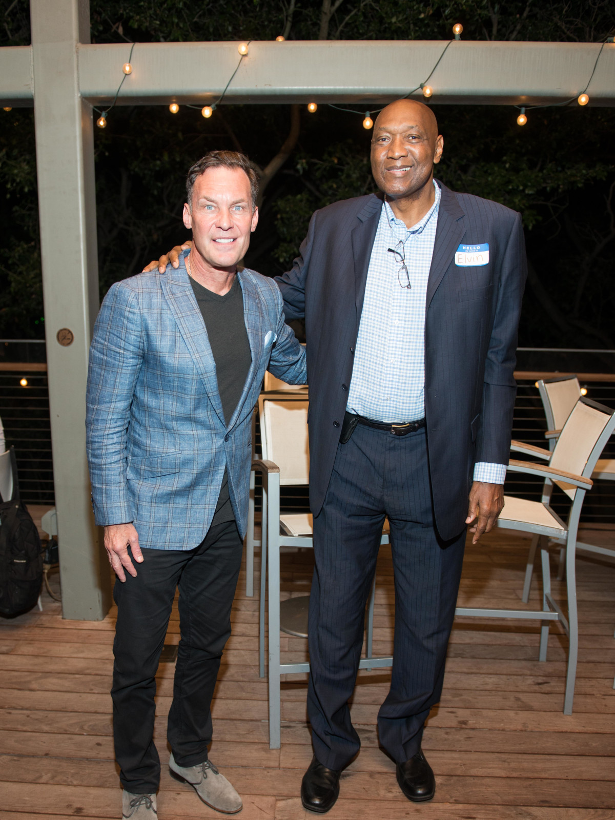 Automotive Map launch party 2019 Glenn Davis Elvin Hayes
