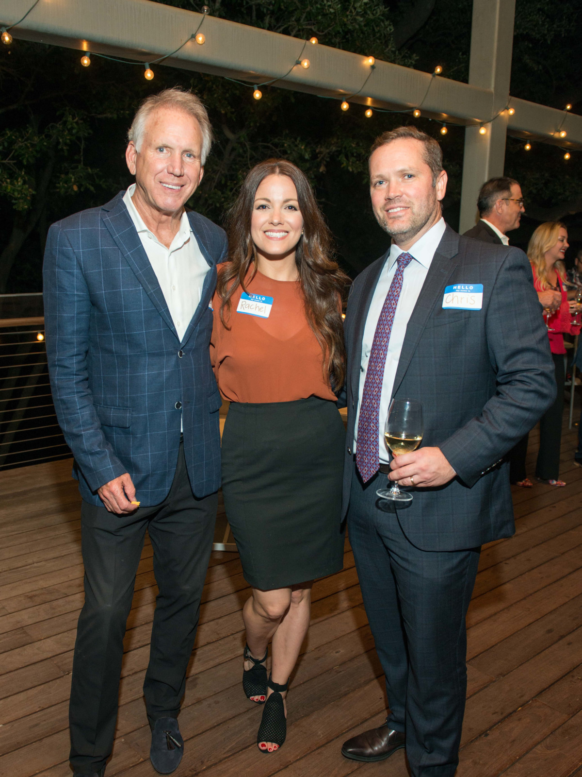 Automotive Map launch party 2019 Lonnie Schiller, Rachel Conrad, and Chris Dvorachek