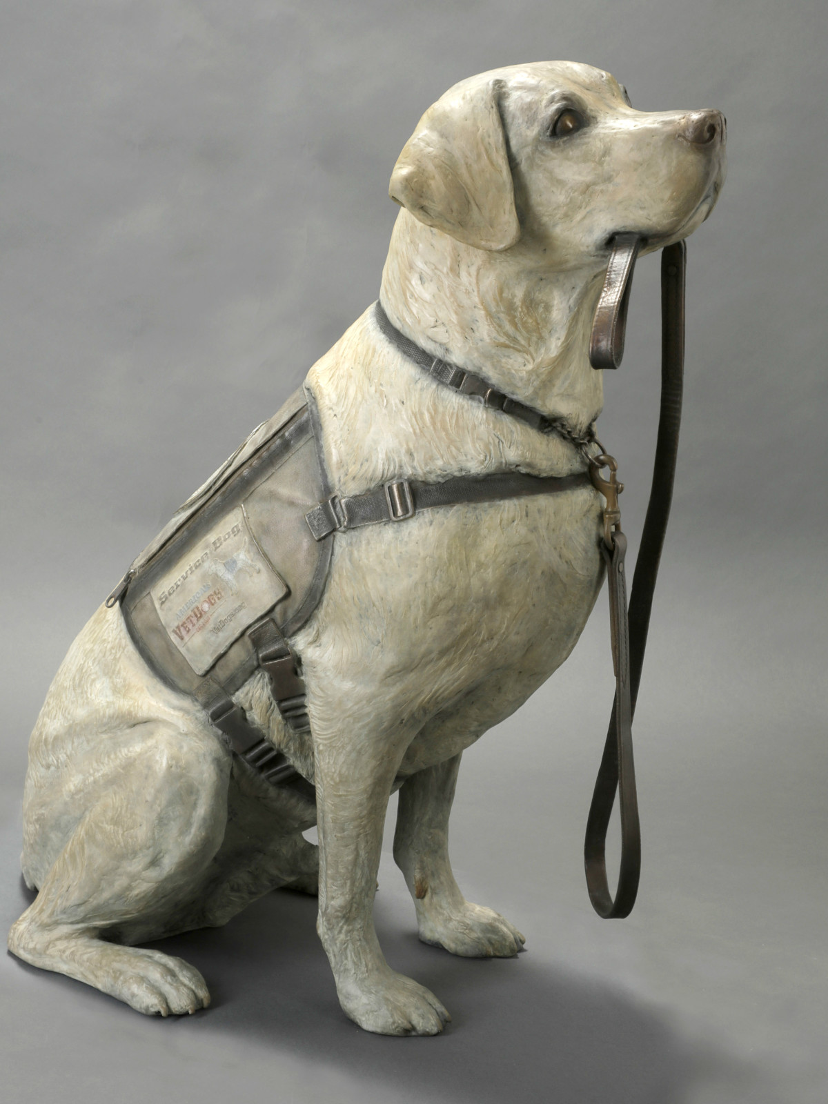 George HW Bush Sully dog statue