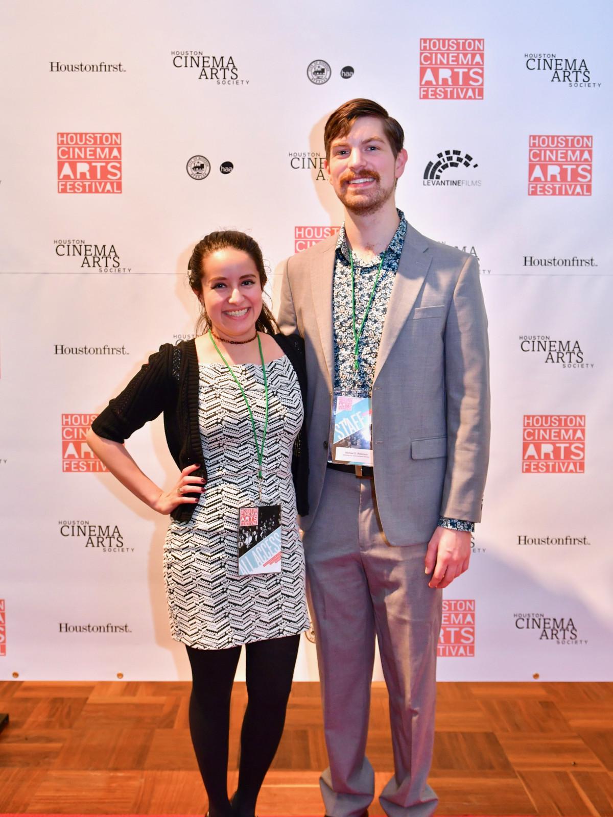 HCAF 2019 Opening Night:Andrea Romero, Michael Robinson