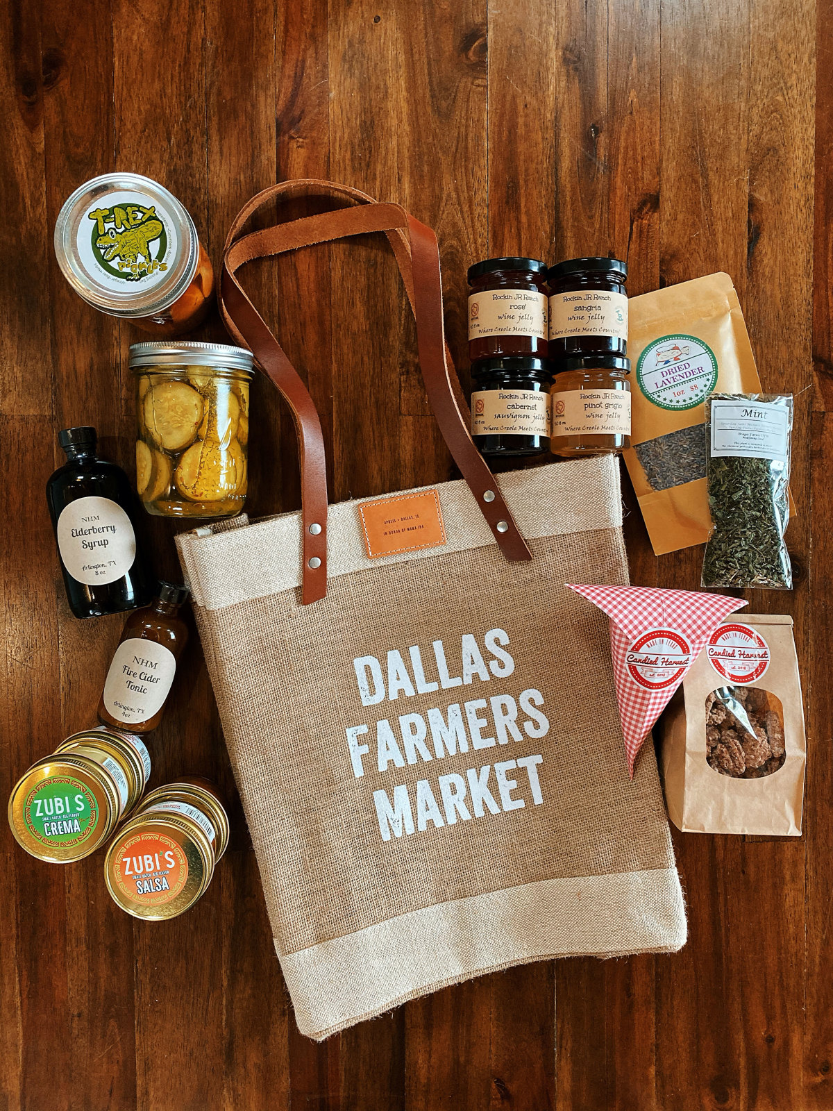 Dallas Farmers Market bag