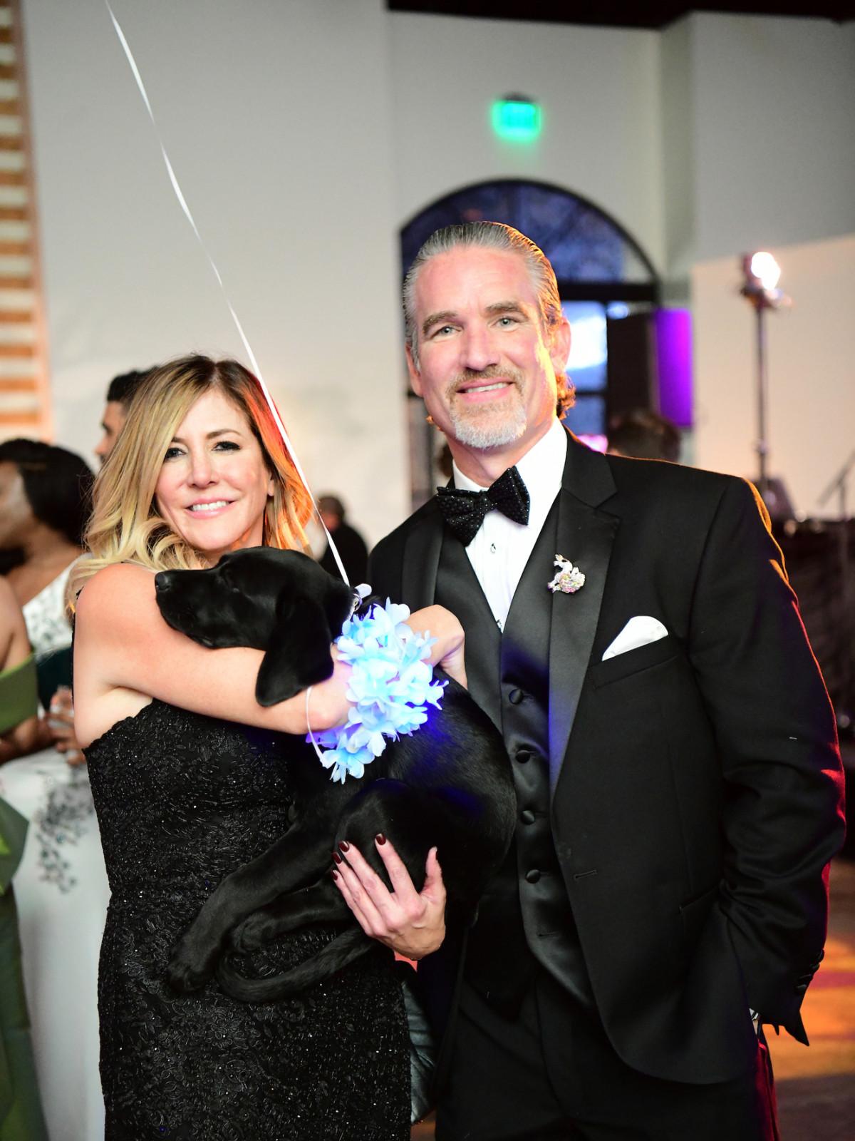 Jungle Book Gala 2019 Mary Lyke and Scott Lockhart