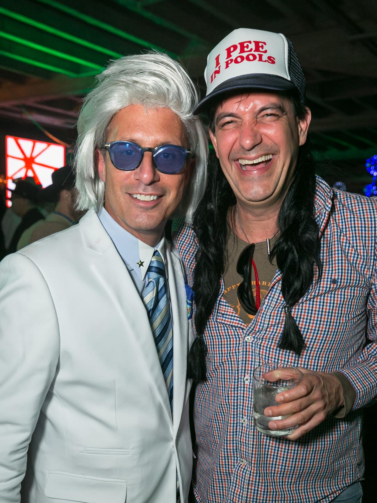 Orange Show Gala 2019 Mark Sullivan and Stuart Rosenberg