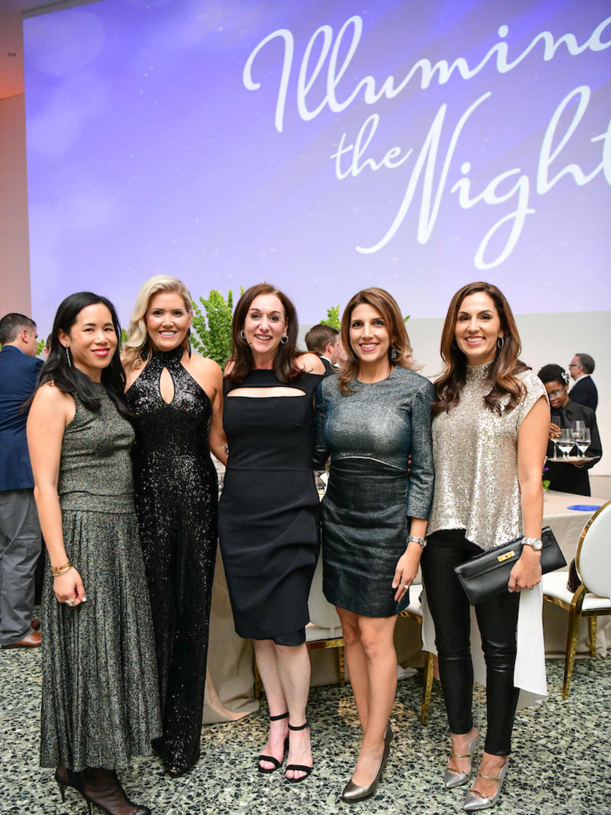 Illuminate the Night CMHH Stephanie Fleck, Amanda Boffone, Amalia Stanton, Neekie Kashani, Julie Chen