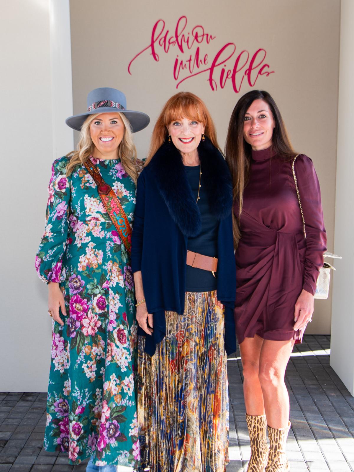Fashion in the Fields 2019 Amanda Boffone, Gracie Cavnar. Elizabeth Dwyer