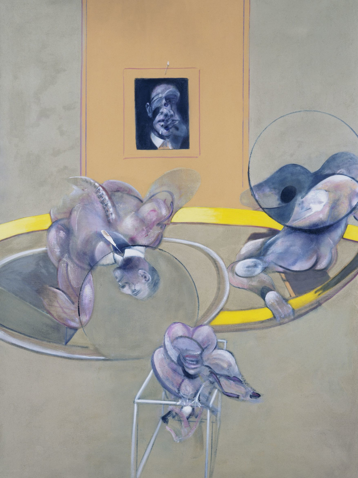 Francis Bacon Museum of Fine Arts, Houston Three Figures and Portrait