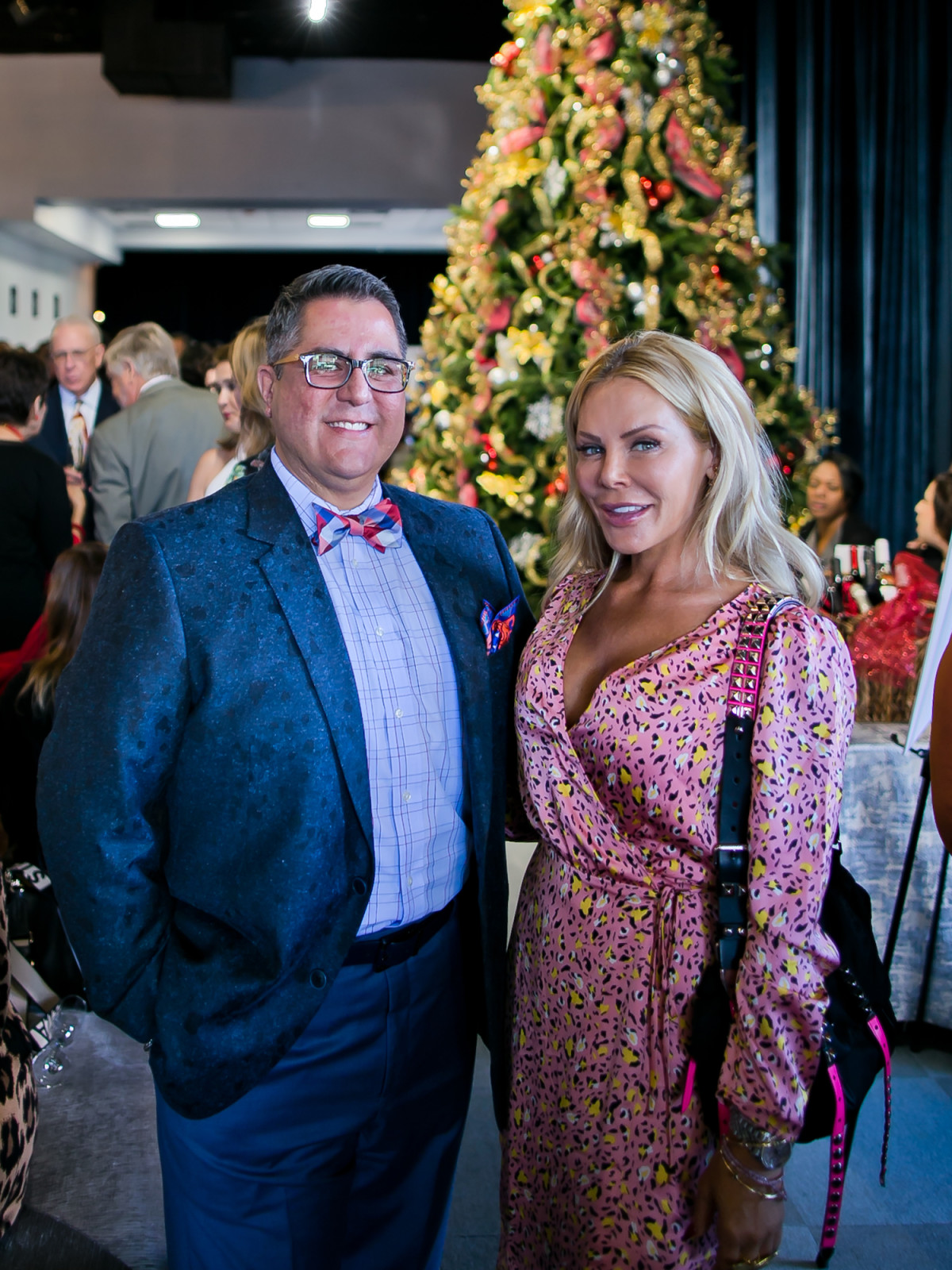 World AIDS Day Luncheon 2019 Dr. Roland Maldonado and Amanda Mills
