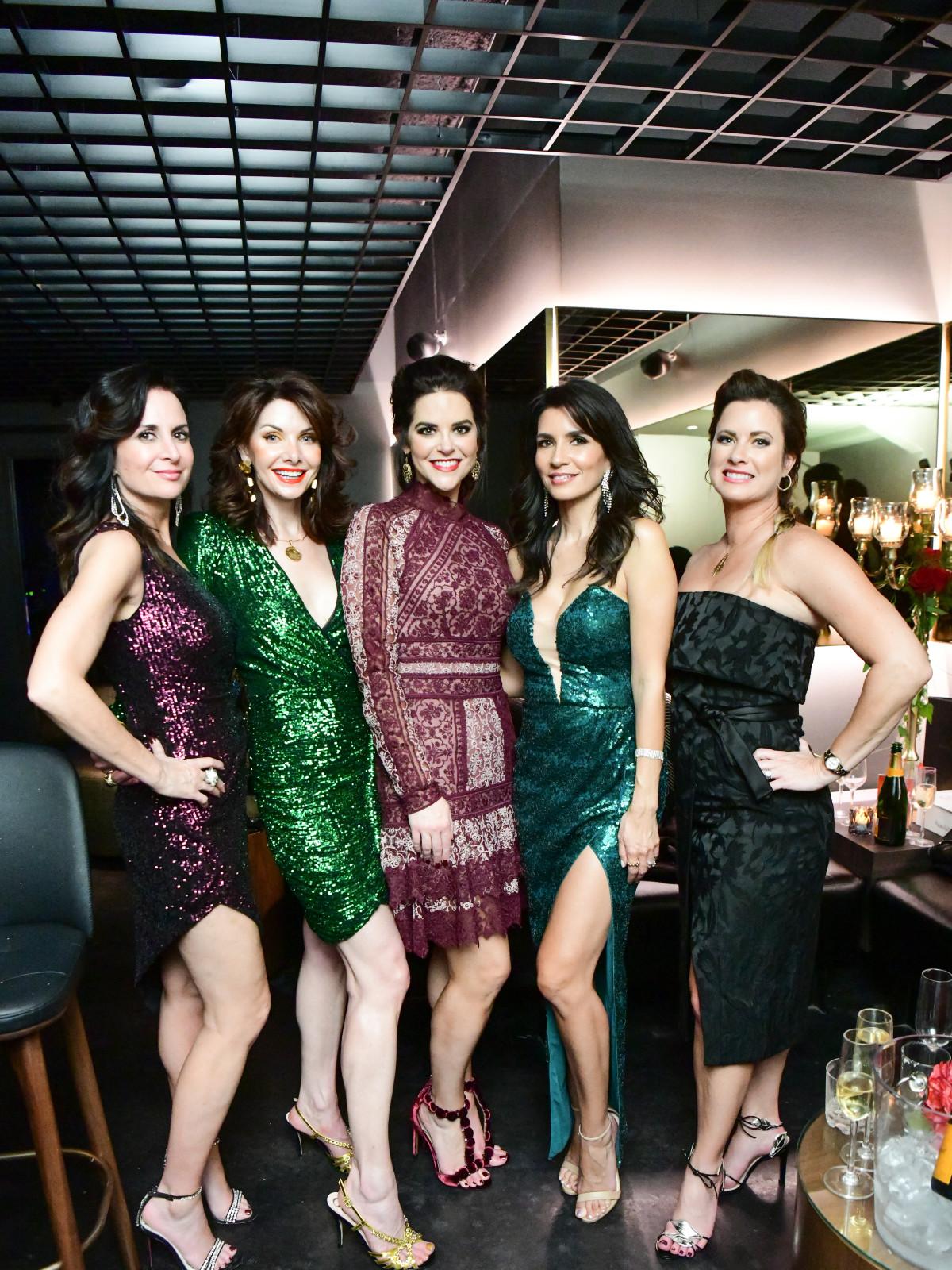 Una Notte 2019 Jennifer Grigsby, Marla Hurley, Ann Ayre, Maya Fasthoff, Christi Rawls