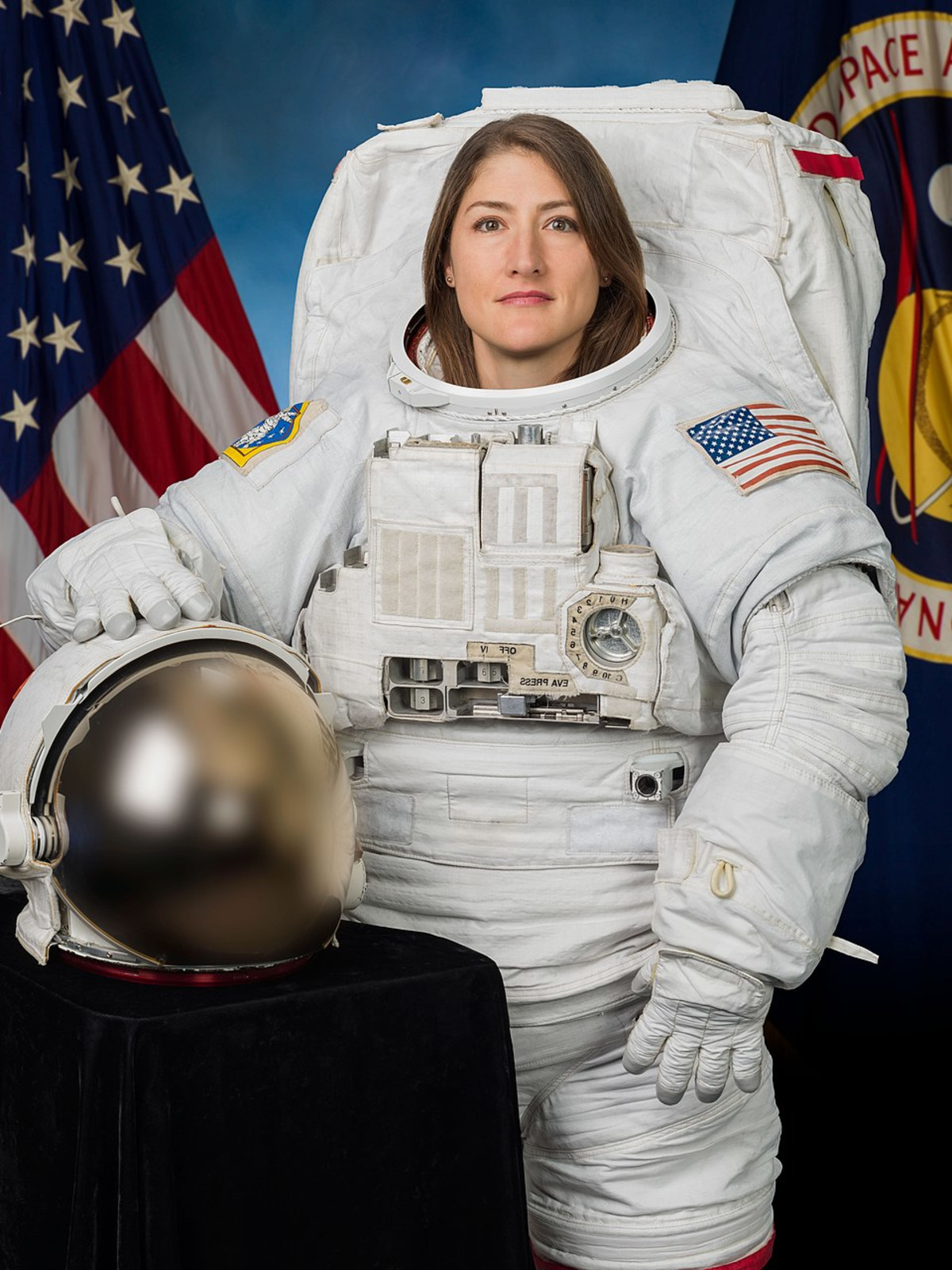 Christina Koch NASA spacewalk flight