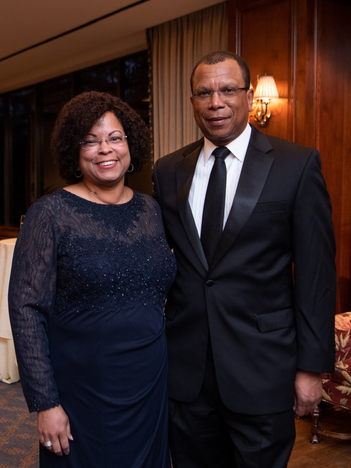 Inprint Poets & Writers Gala 2020: Inprint Board Vice President Marcia West and Ron Lewis