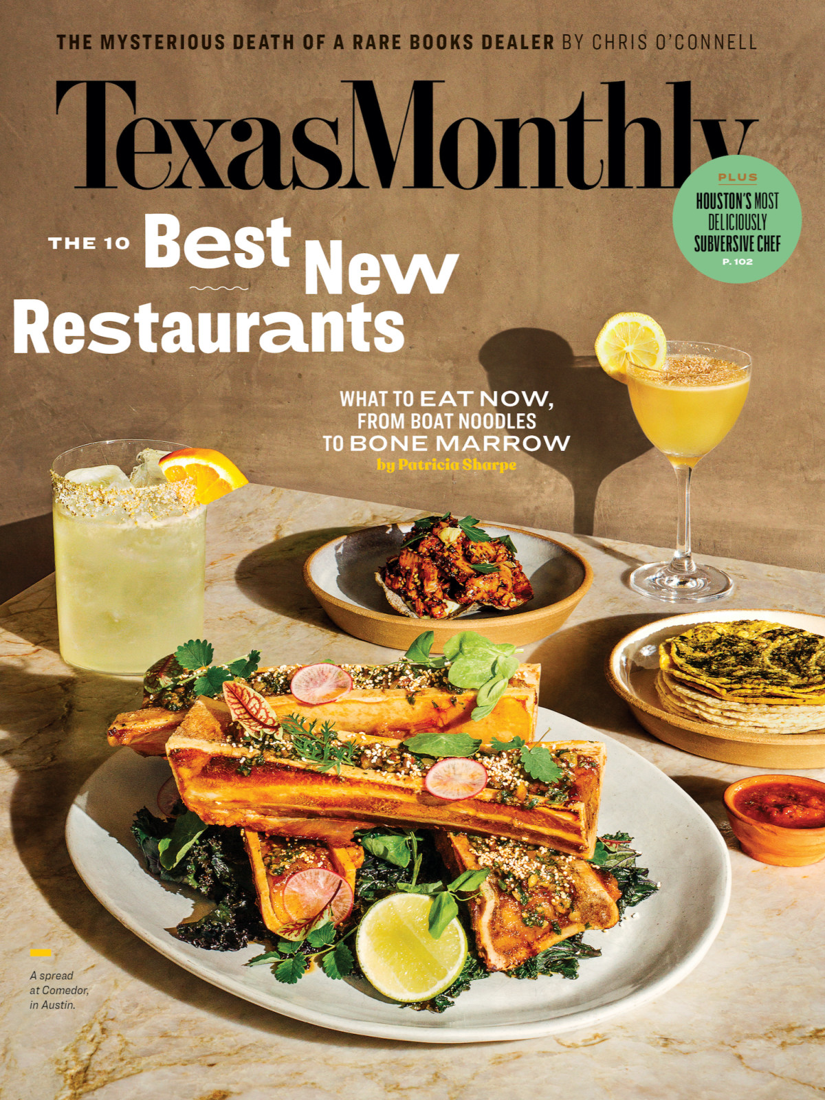 Texas Monthly Best New Restaurants 2020 cover