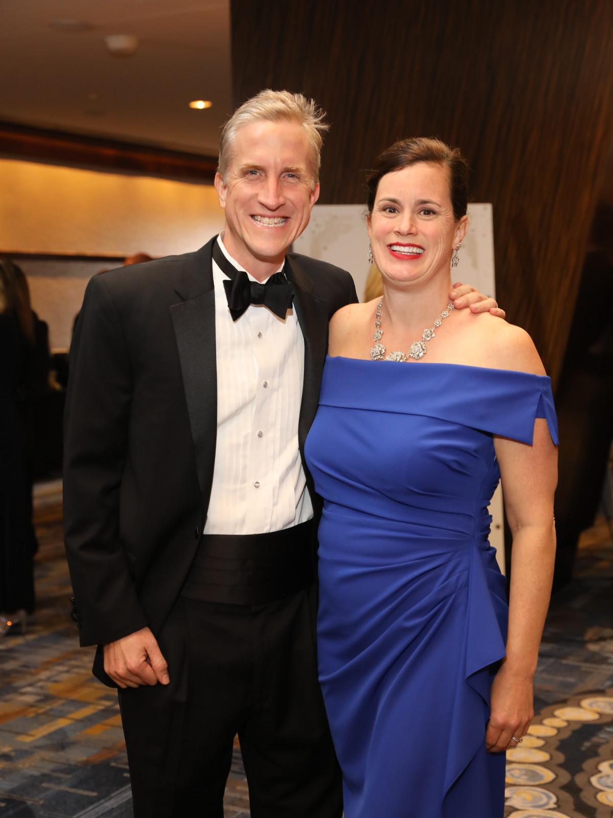 Heart Ball 2020 Brett Clanton and Beth Lousteau