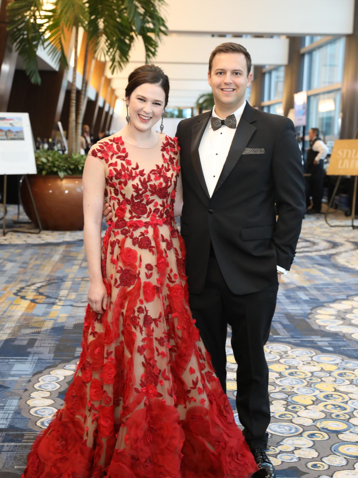 Heart Ball 2020 Rachel and Tim Dash