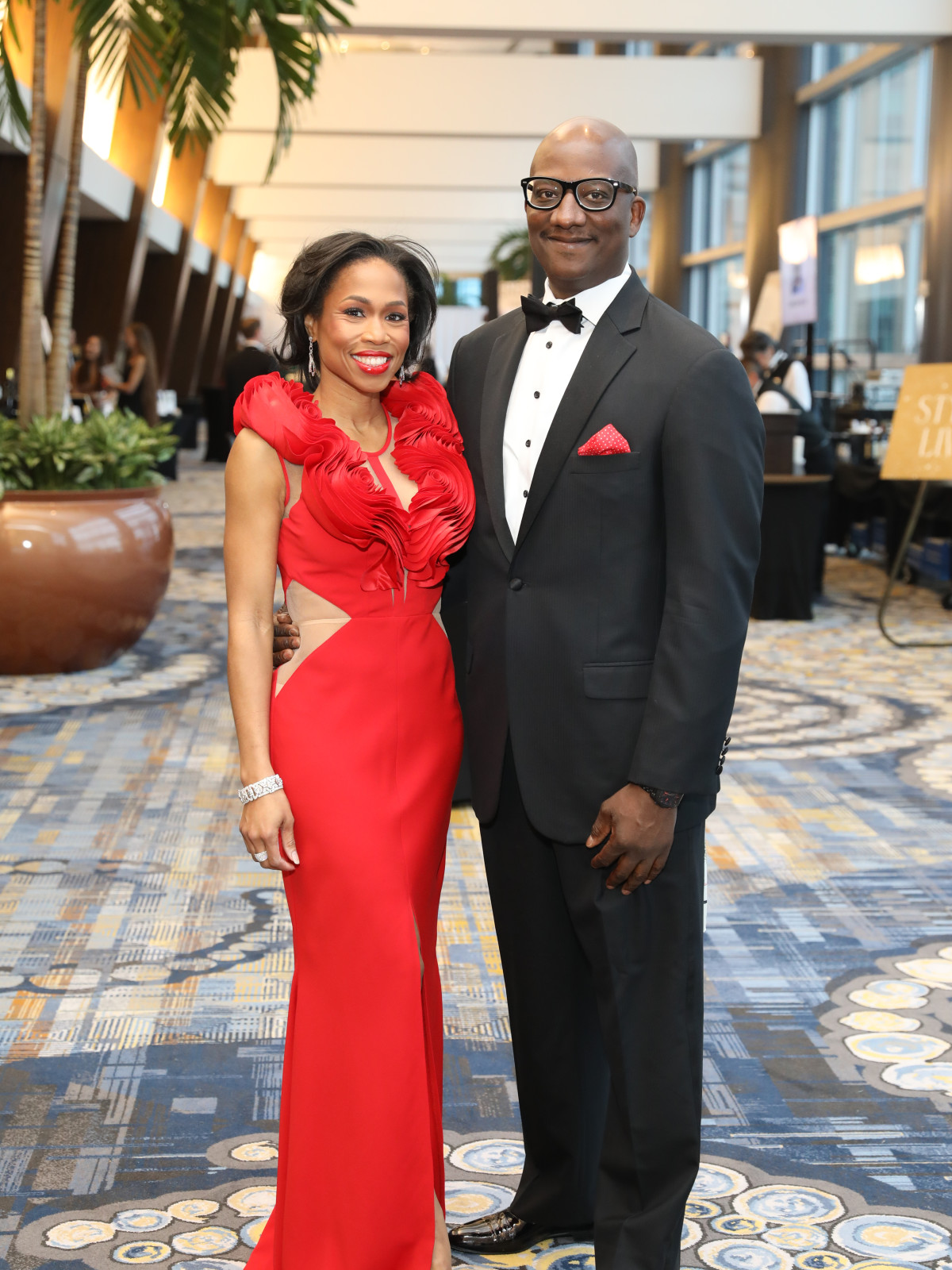 Heart Ball 2020 Roslyn Bazzell Mitchell and Derrick Mitchell