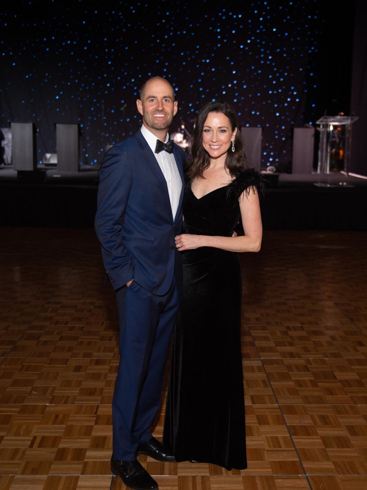 Heart Ball 2020 Ryan and Katie Pryor