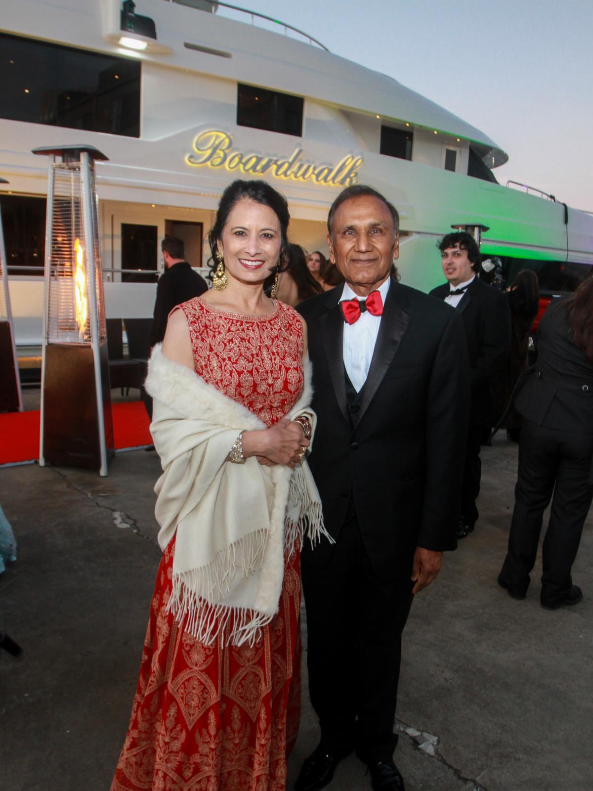 San Luis Salute 2020 Dr. Renu and Suresh Khator