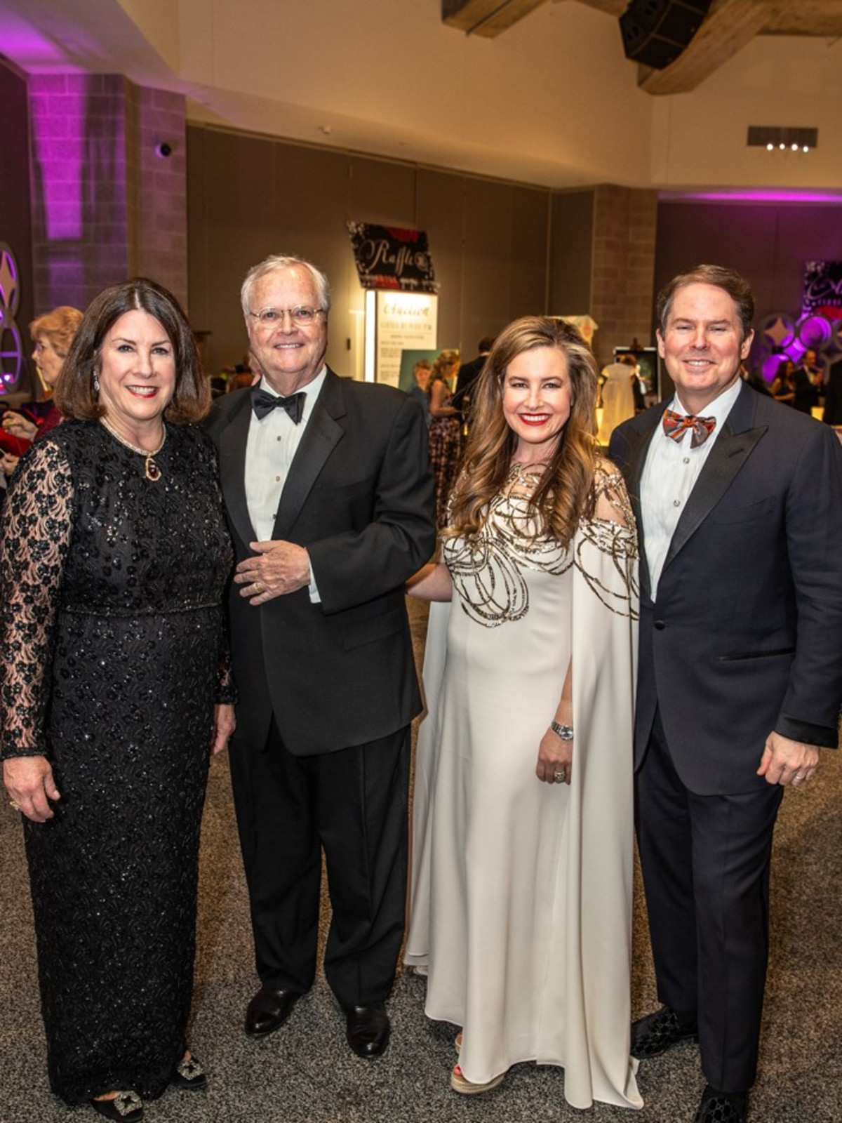 Carol & James Dunaway, Christy & Jason Smith