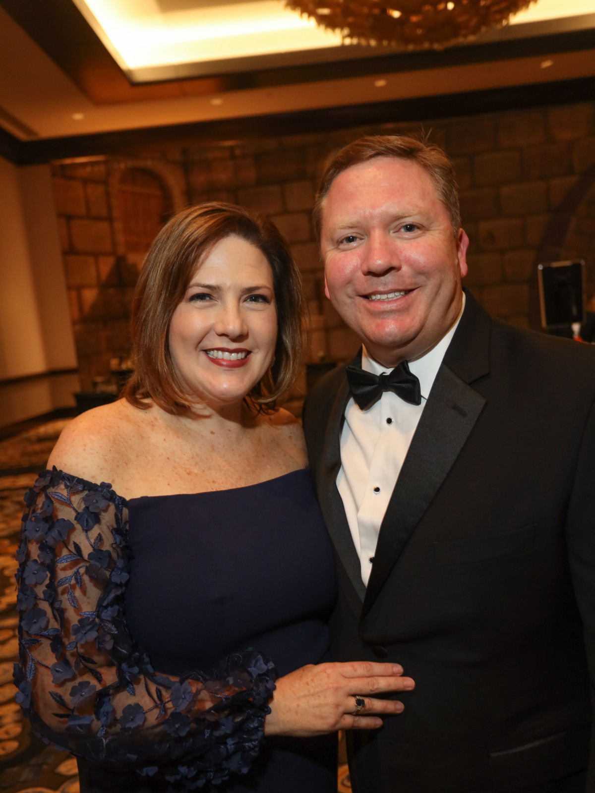 West U Park Lover's Ball 2020 Michelle and Doug Huth