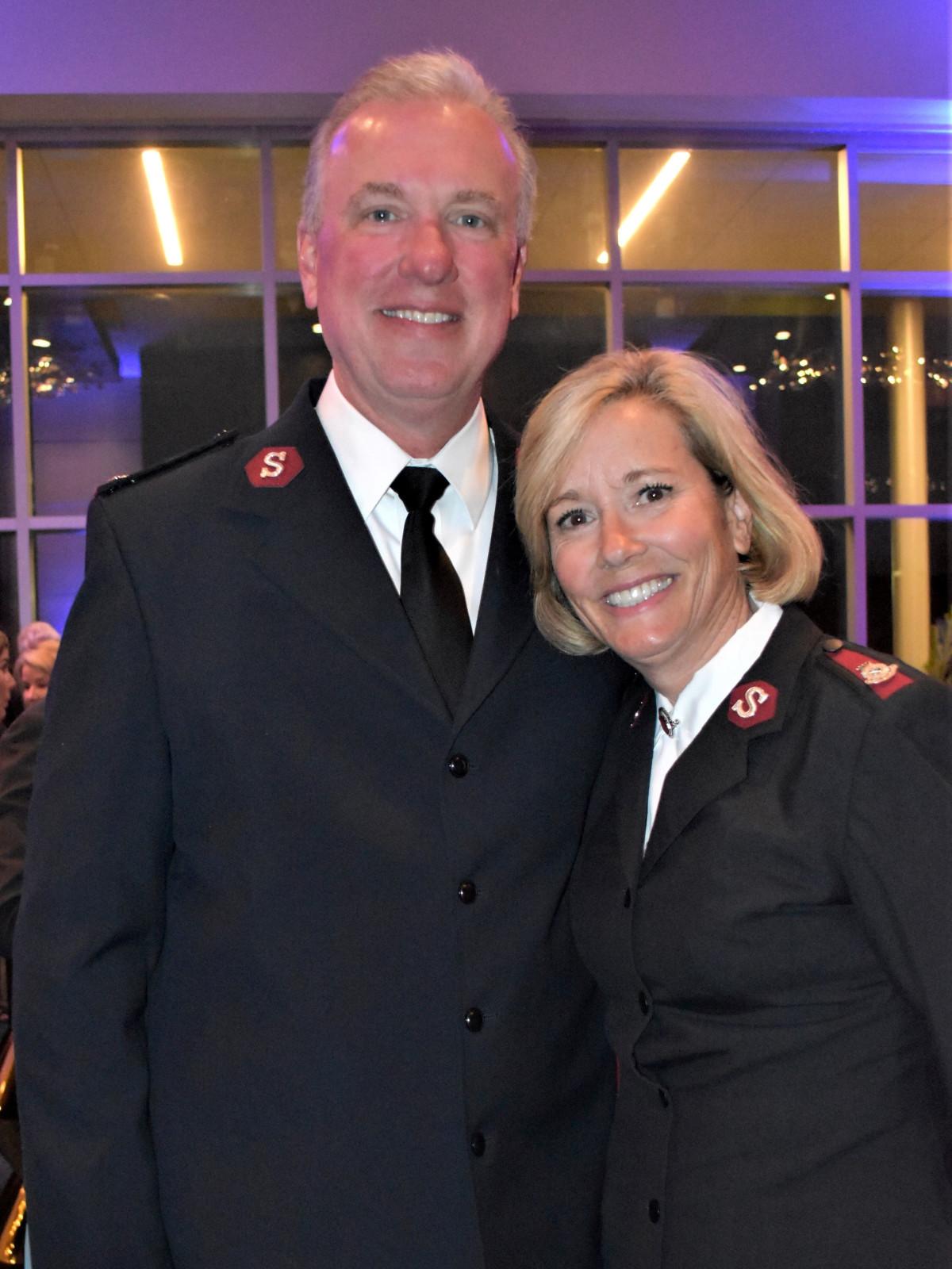 Majors Jon & Barbara Rich