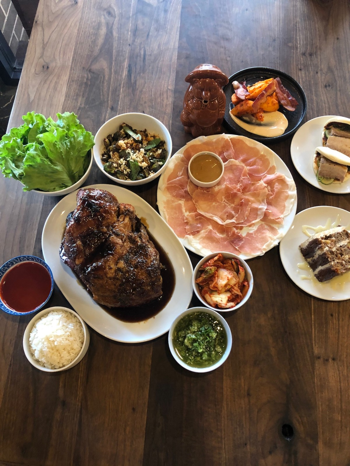 Momofuku ssam bar tribute menu UB Preserv Nick Wong