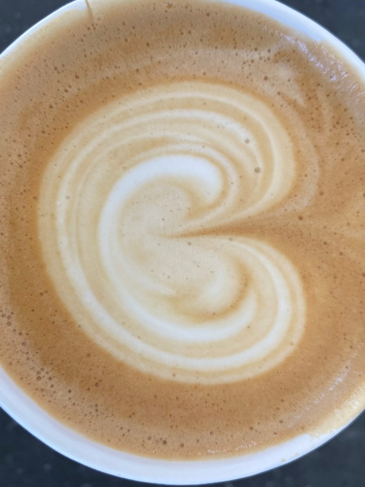 Tenfold Coffee flat white