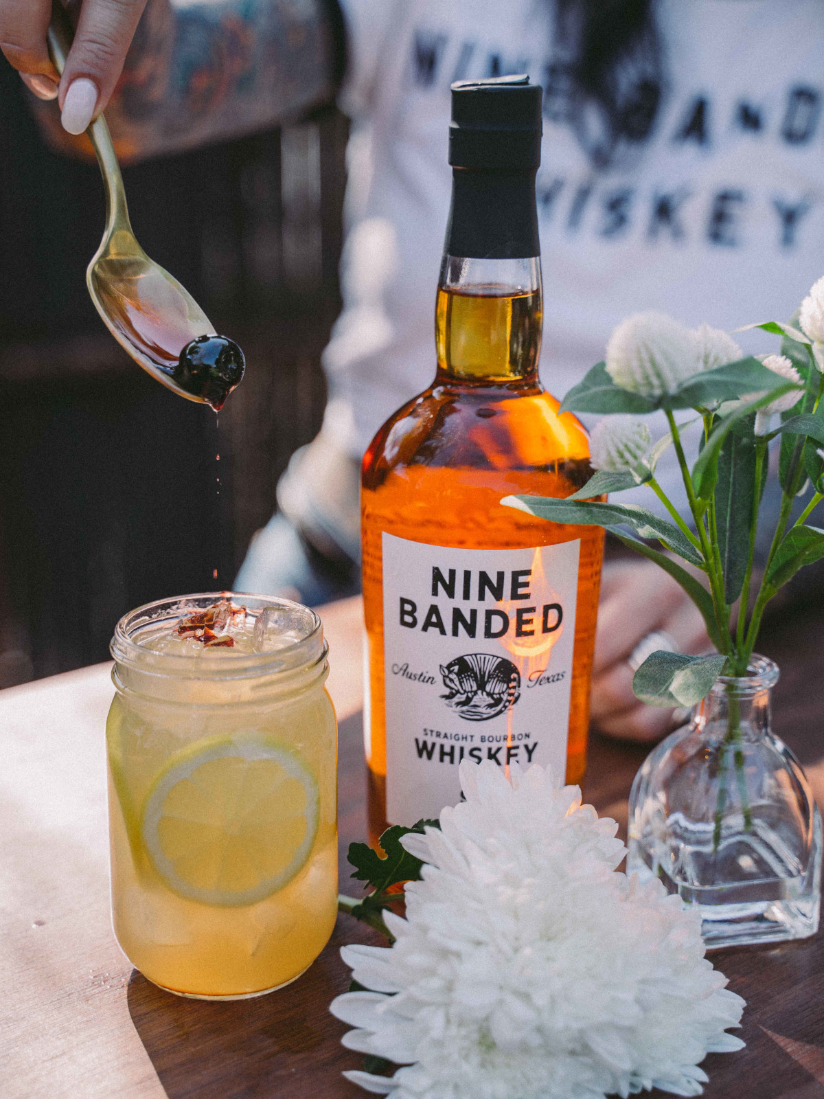 Nine Banded Whiskey cocktail
