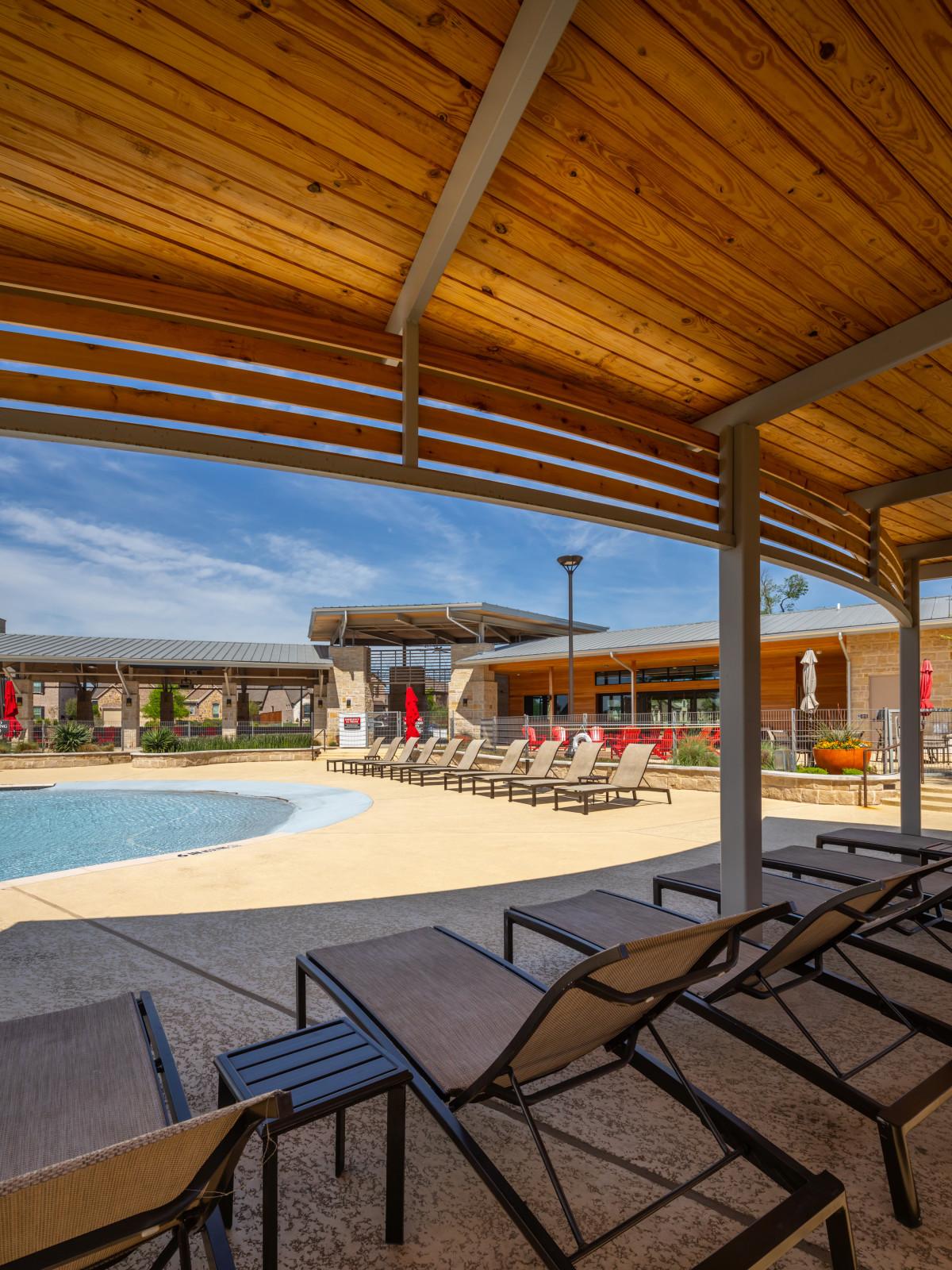 Trinity Falls community pool