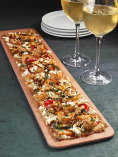 Seasons 52, restaurant, Spicy Chipotle Shrimp Flatbread