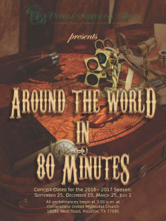 Cypress Symphonic Band presents Around the World in 80 Minutes - Fall Concert