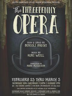 Austin Community College Drama Department presents The Three Penny Opera