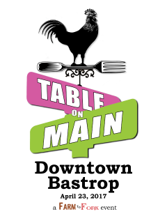 City of Bastrop presents Table on Main