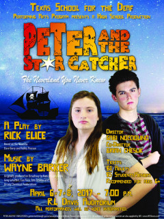 Texas School for the Deaf Performing Arts Program presents Peter and the Star Catcher