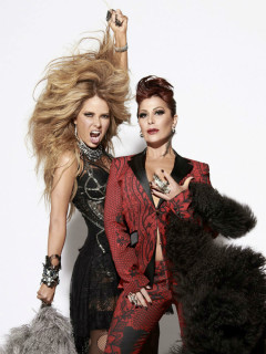 Gloria Trevi and Alejandra Guzman