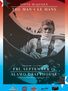 "Circuit of The Americas presents Steve McQueen: ""The Man & Le Mans"""